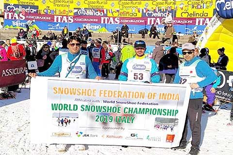 World SnowShoe Championship-2019: Kashmir athletes set to take part in Italy event