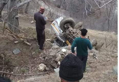 Two dead, one injured in Banihal road accident