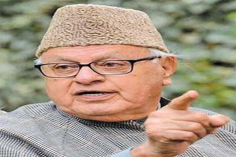 Governor Malik's remarks contradict ground situation: Dr Farooq Abdullah