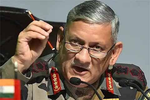 Army chief warns Pakistan