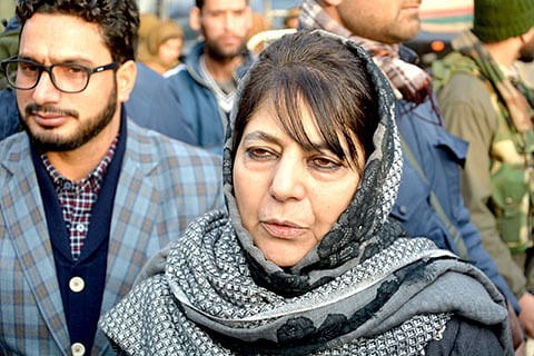 """Mehbooba calls for dialogue with militants to """"end bloodshed"""""""