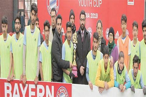 Sanctorum School wins Bayern FC Cup at DPS Srinagar