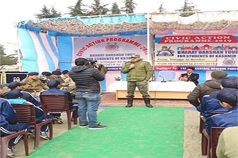CRPF flags off students' tour