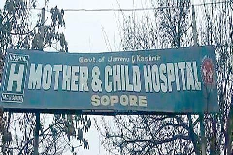 Shortage of doctors at MCH Sopore