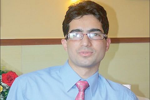 Will chart independent political journey: Shah Faesal