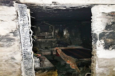 Youth charred to death, 2 injured in fire