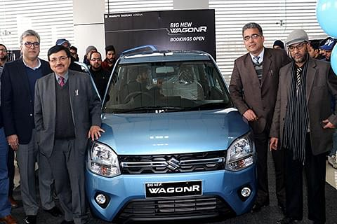 Maruti Suzuki unveils Big New WagonR in Kashmir