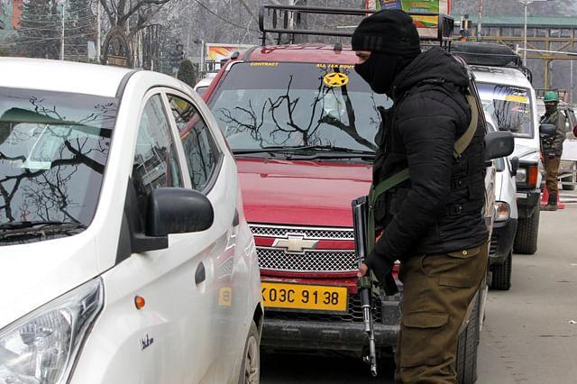 Security Clampdown in Srinagar Ahead of PM Modi's Visit