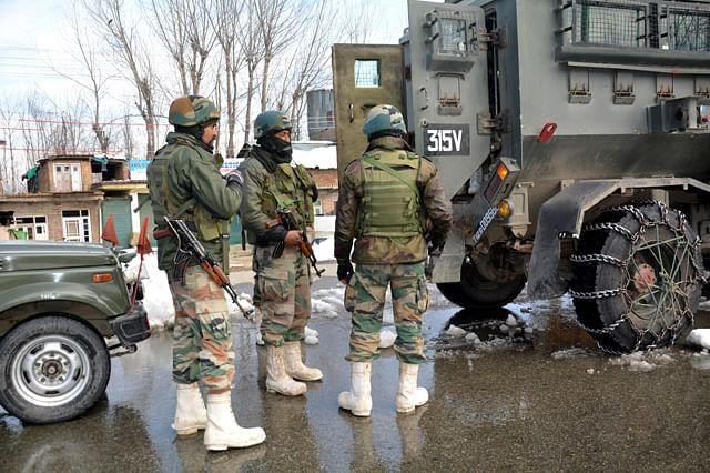 Five Militants Killed in Kulgam Gunfight