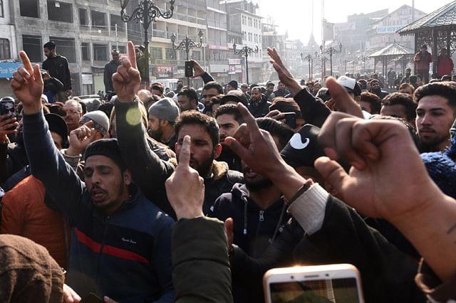 Shutdown, Protests in Kashmir Against Attacks on Kashmiris in Jammu