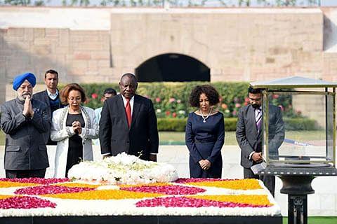 Homage to Gandhi