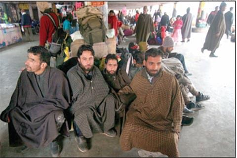 Stranded passengers ask where is administration