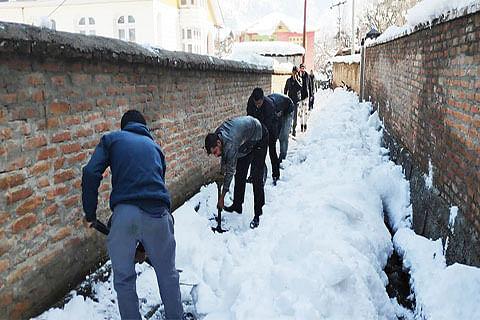 Bhaderwah admin launches snow clearance