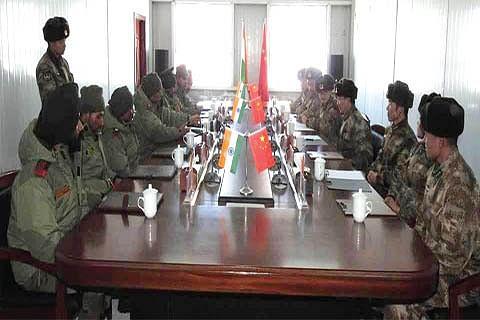 India, China armies vow to maintain peace along Ladakh border
