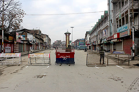 Kashmir observes shutdown