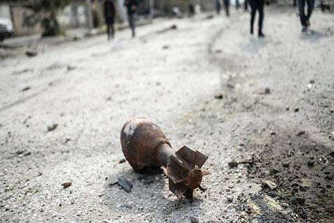 Border residents petrified of live mortar bombs lying around Chajjla village
