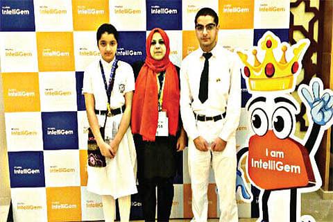 DPS Srinagar runner-up at TCS iON Intelligem