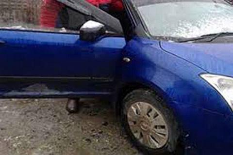 Car stolen at Hyderpora