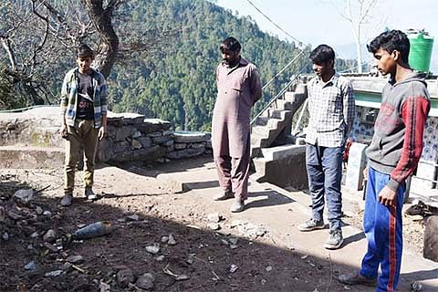 'Live mortars' pose constant threat to Chajjla residents