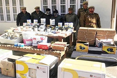2 arrested, stolen items recovered: Police