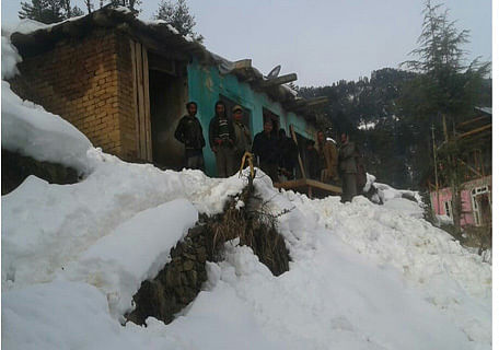 72-year-old woman dies in house collapse in Bhadarwah