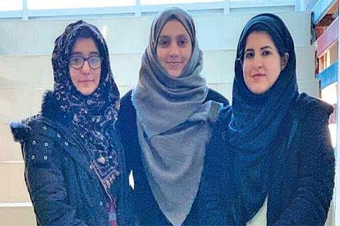 Trio of female student engineers designs smart Tash-Naer