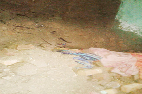 72-yr-old woman dies in house collapse