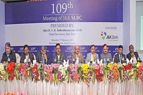 Poor priority sector lending by banks in J&K: Chief secretary expresses concern