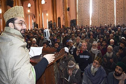 Reopening of traditional routes only solution to highway blockade: Mirwaiz