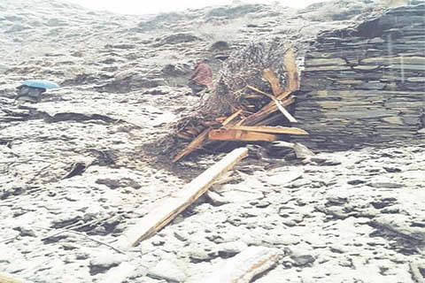 House collapses in Mamankote