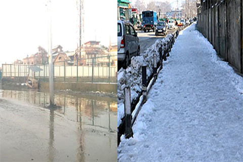 Day 2: No end to waterlogging woes in Srinagar areas