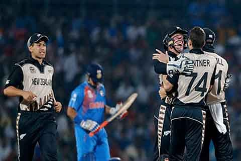 New Zealand beat India to claim T20 Int'l series
