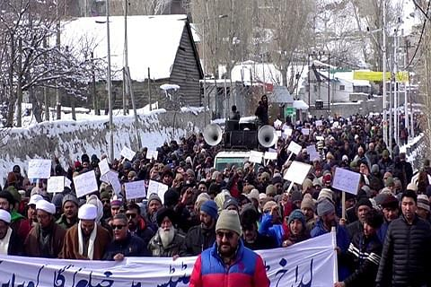 DIVISIONAL STATUS FOR LADAKH; Headquarters row: Anger spills on to streets in Kargil