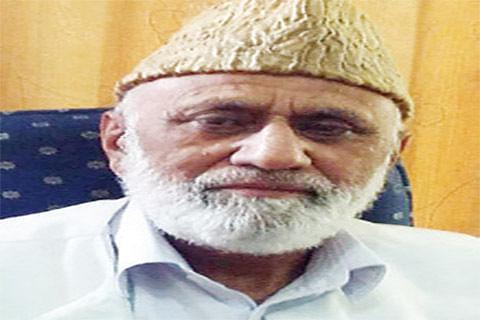 Sehrai pays tributes to Maqbool Bhat, Kulgam militants