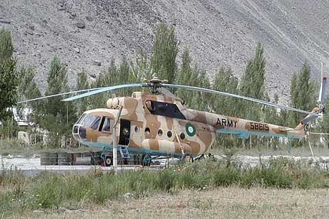 Critically ill patients airlifted