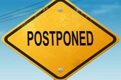 Army recruitment rally postponed