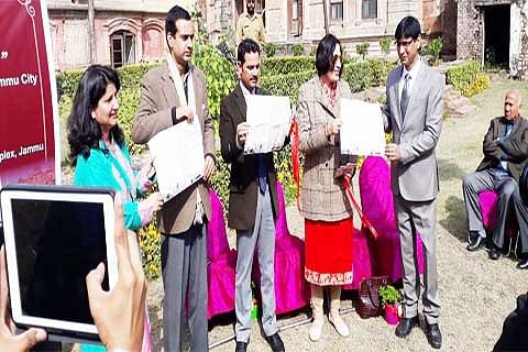 Heritage map of old Jammu city launched
