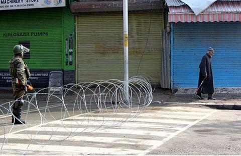 Shutdown on Maqbool Butt anniversary paralyses life in Kashmir