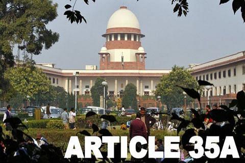 Jammu and Kashmir govt seeks adjournment of Article 35-A hearing