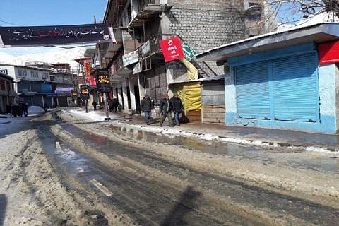 Kargil observes shutdown over setting up of administrative hq in Leh