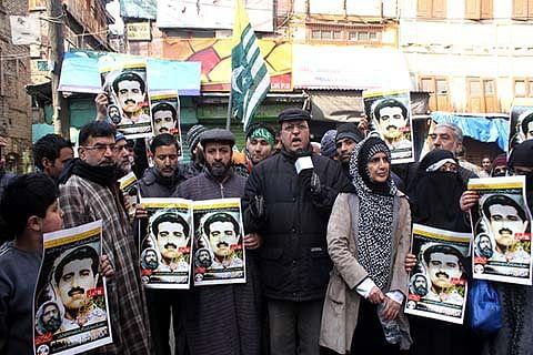 Kashmir shuts to mark Maqbool Bhat's 35th hanging anniversary