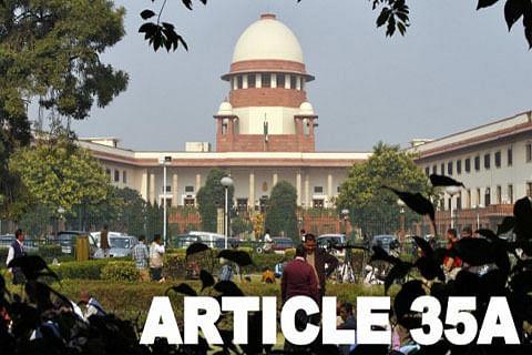 J&K seeks adjournment of pleas in SC against Articles 370, 35A