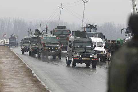 High alert sounded across Kashmir