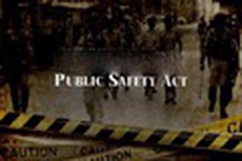 Why Public Safety Act must go