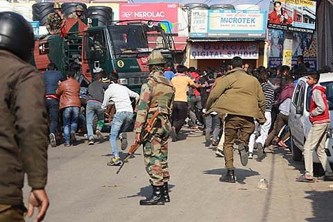 '120 booked for arson, violence in Jammu'