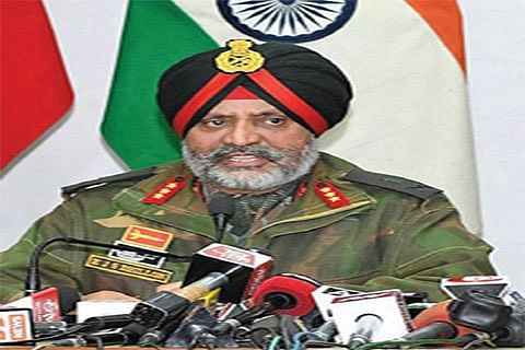 Militants involved in highway attack killed within 100 hours: GoC Dhillon