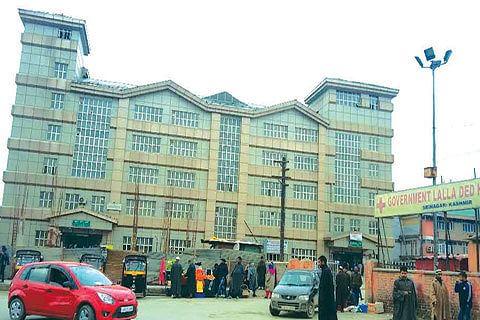 ICPS establishes help desk for abandoned babies at Lal Ded Hospital