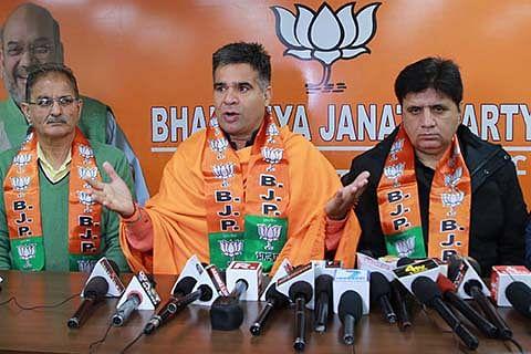 BJP for reopening 'pending' cases against Hurriyat leaders