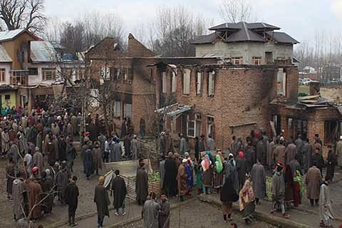 In Pulwama people continue to lose properties to encounters