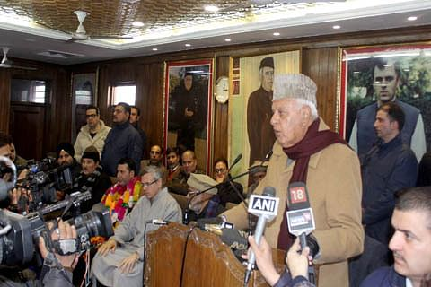 Attempts being made to create war hysteria: Farooq Abdullah
